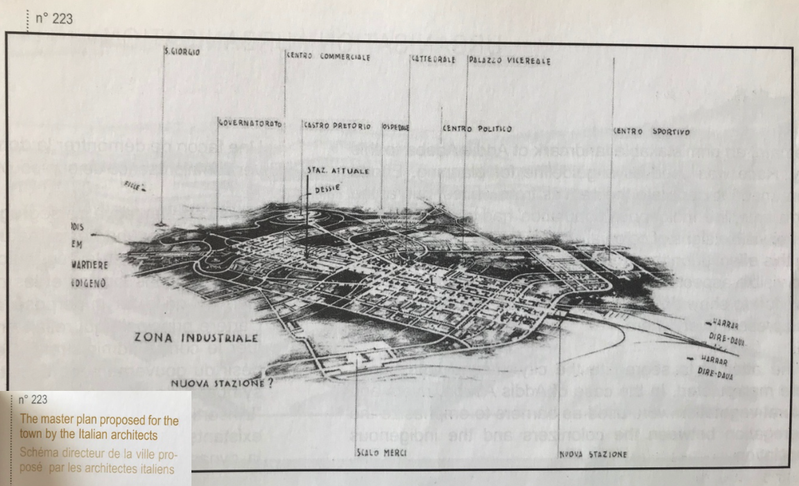 Image taken from 'The City & It's Architectural Heritage: Addis Ababa 1886-1941; La Ville & son Patrimoine architectural' by Fasil Giorghis & Denis Gérard